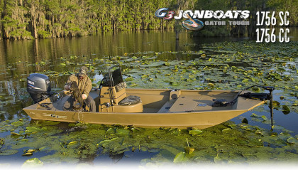 G3 Boats Gator Tough Jonboats 1756