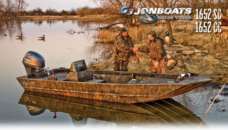 G3 Boats Gator Tough Jonboats 1652