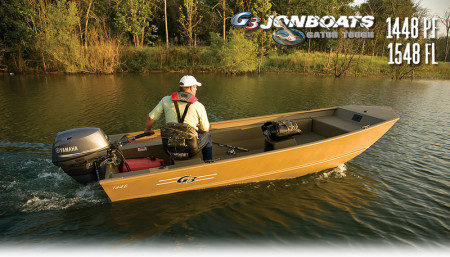 G3 Boats Gator Tough Jonboats 1448/1548