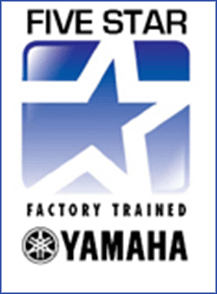 Yamaha 5 Star Factory Trained