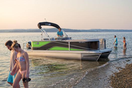 Suncatcher pontoon V 322